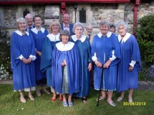 Colyford choir