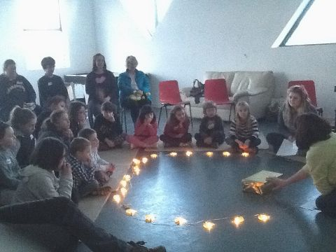 Candlemas celebrated at Messy Church